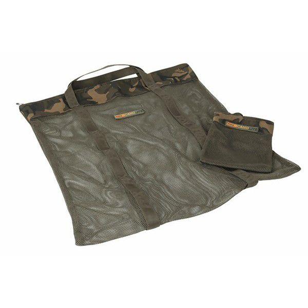 FOX Camolite Air Dry Bag + Hookbait Bag vėdinimo krepšiai (M dydis, su masalų krepšeliu)