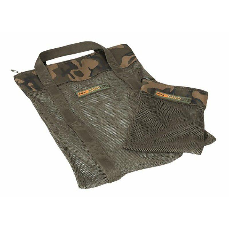FOX Camolite Air Dry Bag + Hookbait Bag krepšys jaukams (didelis)