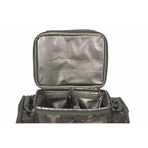 FOX Camolite 2 Man Cooler Food Bag šaltkrepšis su indais ir stalo įrankiais