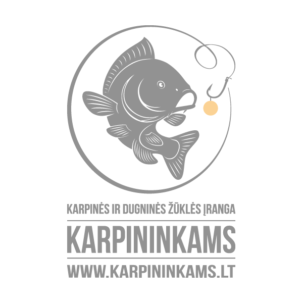 FOX Black & Orange Lined Bobble Hat kepurė