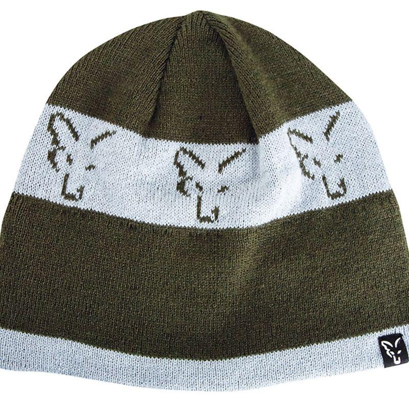 FOX Green & Silver Beanie kepurė
