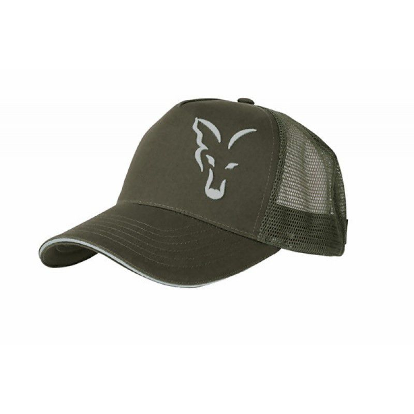 FOX Green & Silver Trucker Cap kepuraitė