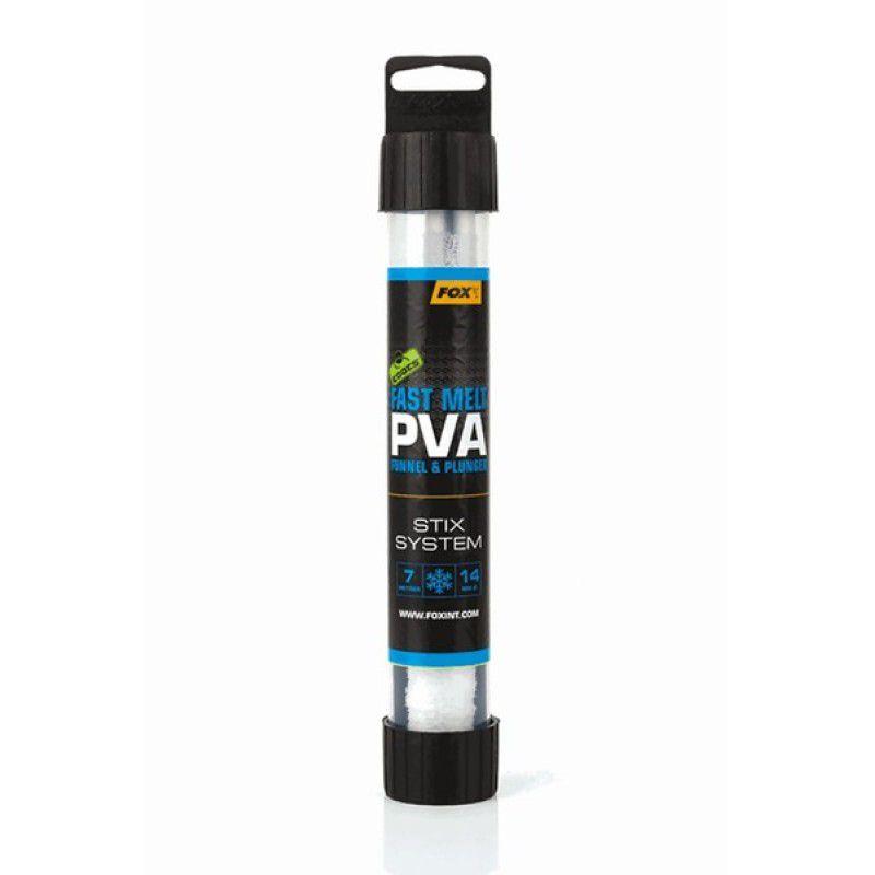 FOX Edges Stix Fast Melt PVA System PVA kojinė su tūta (14 mm, greitai tirpstanti, 7 m)