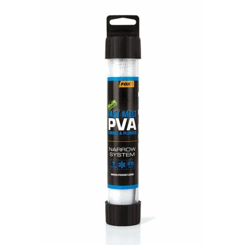 FOX Edges Narrow Slow Melt PVA System PVA kojinė su tūta (25 mm, lėtai tirpstanti, 7 m)