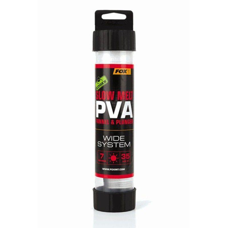 FOX Edges Stix Slow Melt PVA System PVA kojinė su tūta (14 mm, lėtai tirpstanti, 7 m)