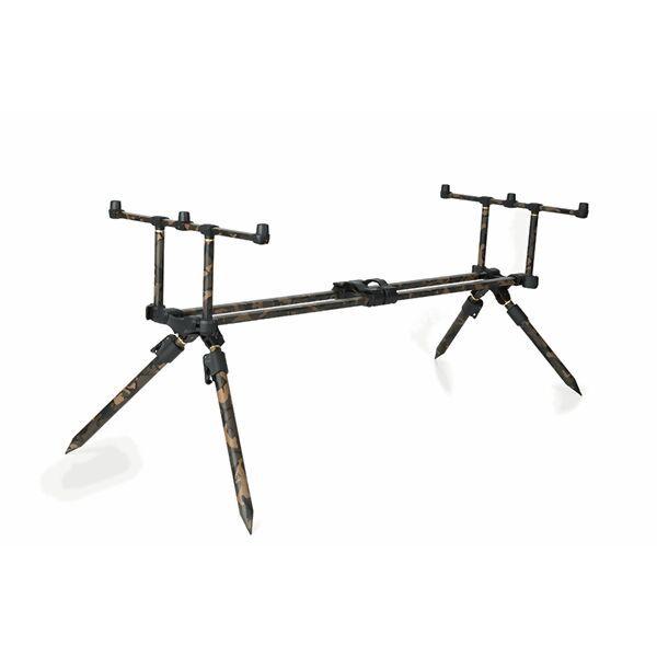 FOX Horizon Duo Camo 3 Rods Pod inc. Extension Legs meškerių stovas (3 meškerėms)
