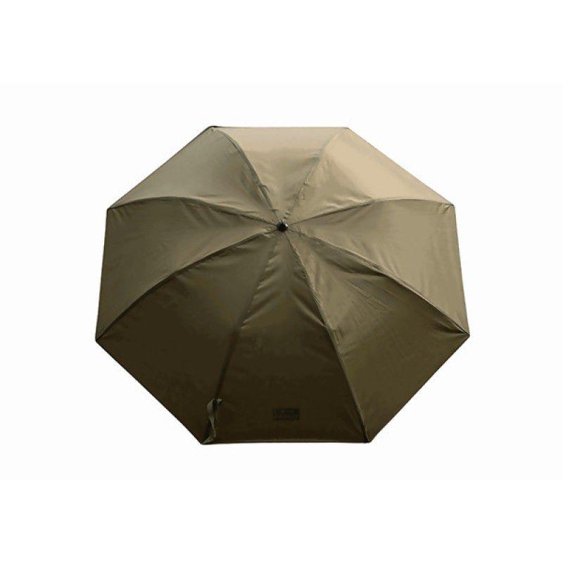 FOX Khaki Brolly skėtis (114 cm / 45 in)