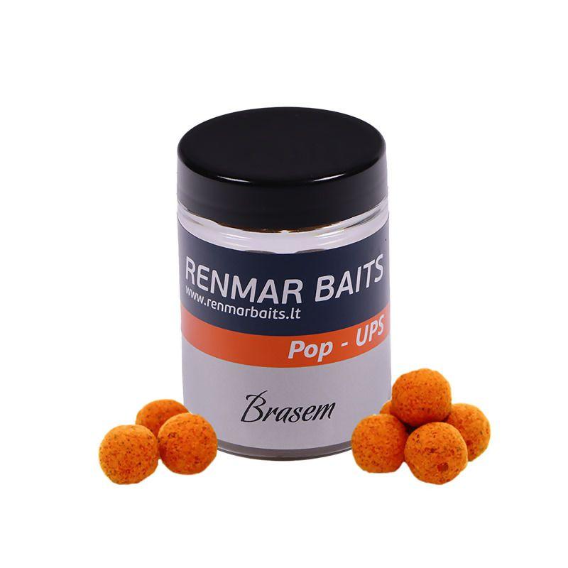 RENMAR BAITS Brasem Pop Up Boilies plaukiantys masaliniai boiliai (10 mm, 50 vnt.)
