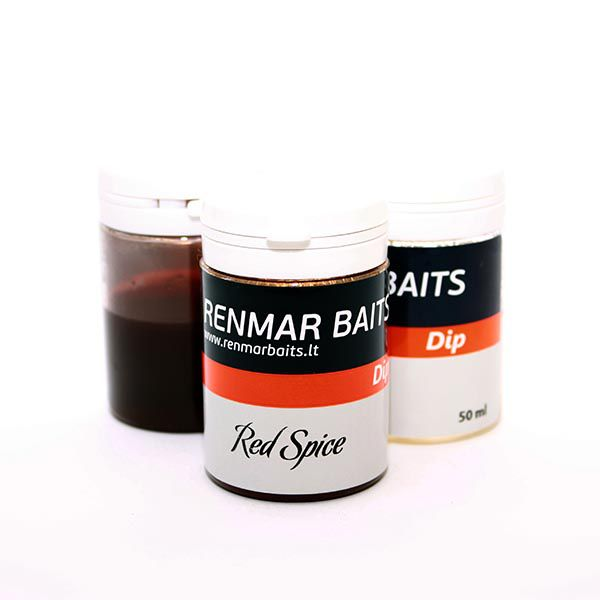 RENMAR BAITS DIP dipas (Red Spice, 50 ml)