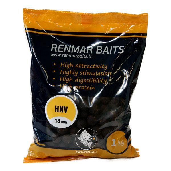 RENMAR BAITS Feed Boilies pašariniai boiliai (HNV, 18 mm, 1 kg)