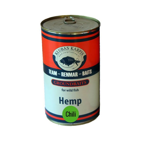 RENMAR BAITS Groundbaits / pašarai (Hemp Chili, 1.25 l)