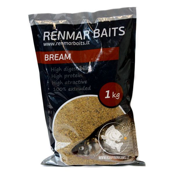RENMAR BAITS Groundbaits Mix / sausas jaukas (Bream, 1 kg)
