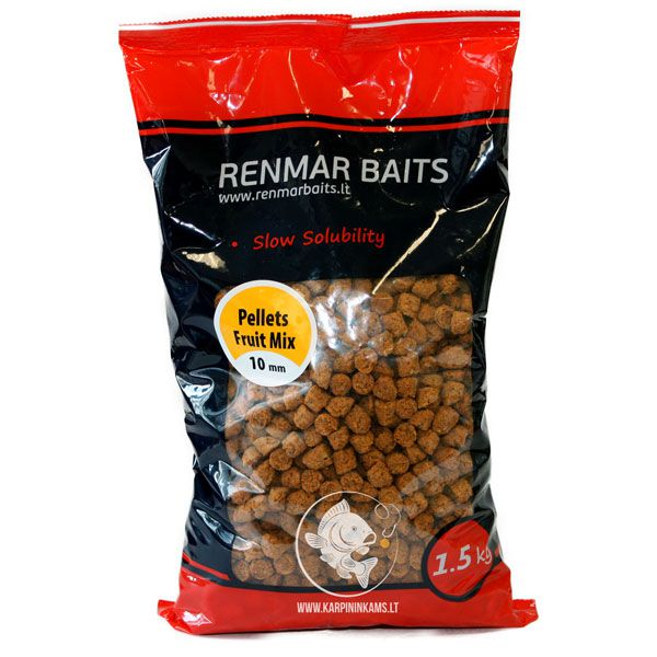 RENMAR BAITS Pellets / peletės (Fruit Mix, 7 mm, 1.5 kg)