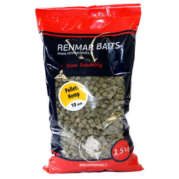 RENMAR BAITS Pellets / peletės (Hemp, 7 mm, 1.5 kg)