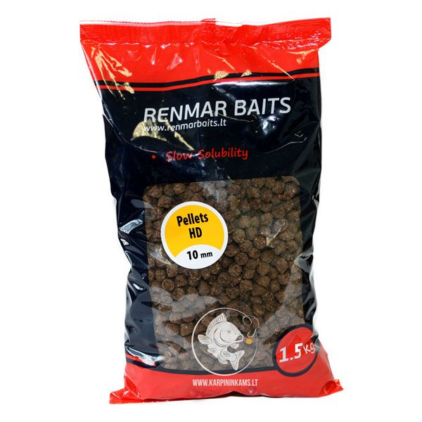 RENMAR BAITS Pellets peletės (High Digestibility, 7 mm, 1.5 kg)