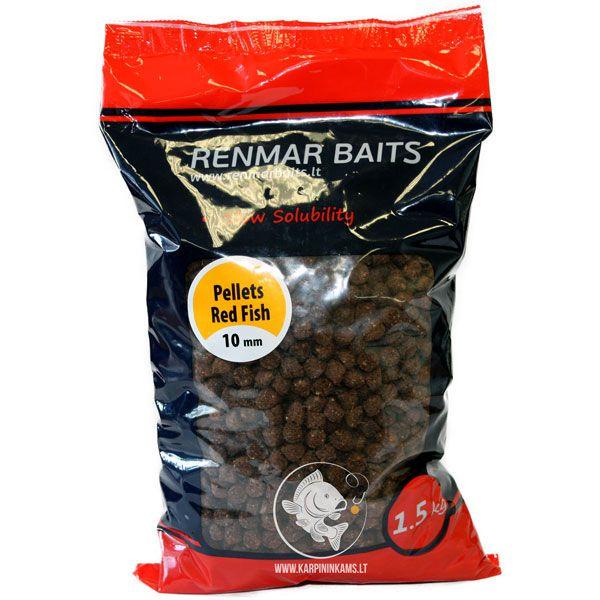 RENMAR BAITS Pellets peletės (Red Fish, 7 mm, 1.5 kg)