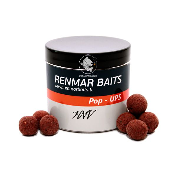 RENMAR BAITS Popups plaukiantys boiliai (HNV, 16 mm, 40 vnt.)
